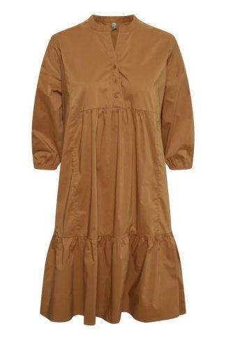 Culture kjole brun