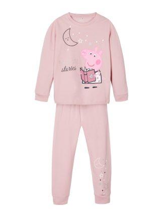 Pysj Peppa Gris, rosa pysjamas til jente.