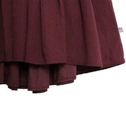 Penkjole til barn, burgunder kjole fra Wheat.