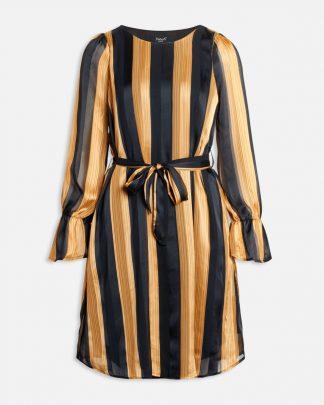 Sort og gull kjole fra Sisters Point