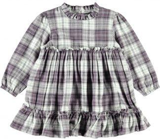 Rutete kjole barn, kjole fra Name It.