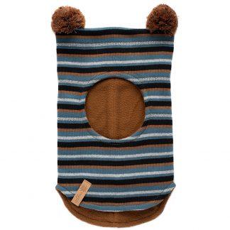 Morild reflekslue barn, brun med striper.