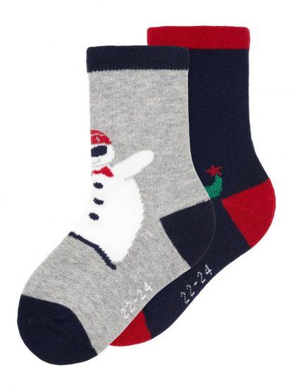 Julesokker til barn fra Name It. – Sokker og strømpebukser 2-pk julesokker Rilly – Mio Trend