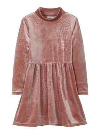 Gammelrosa kjole barn, kjole fra Name It.