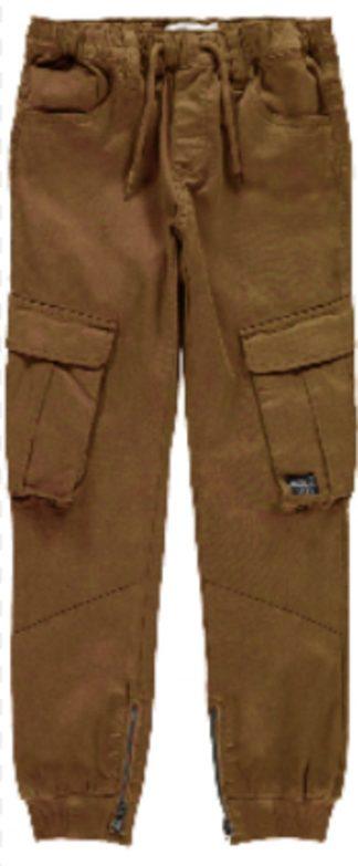 Cargobukse barn, grønn bukse fra Name It.