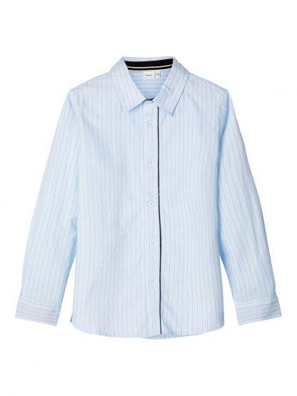 Penskjorte til barn fra Name It. – Skjorter og vester lyse blå penskjorte Ruskie – Mio Trend