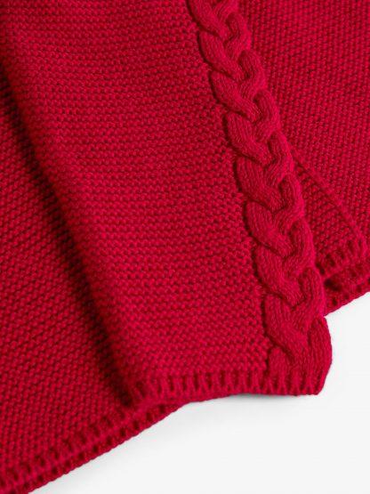 Rød jakke barn, cardigan til jente fra Name It.