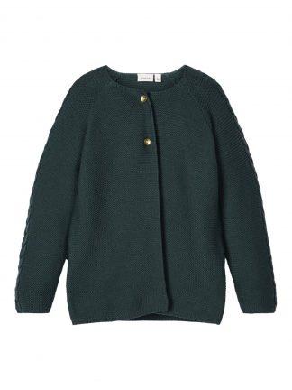 Name It grønn cardigan til jente.
