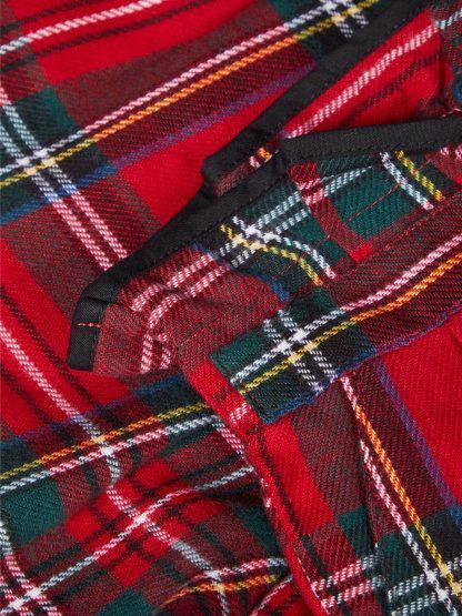 Rød shorts Name It, shorts til jente.