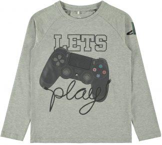 Genser med Playstation print, fra Name It.