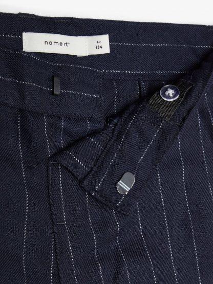 Penbukse barn gutt, mørke blå bukse fra Name It.