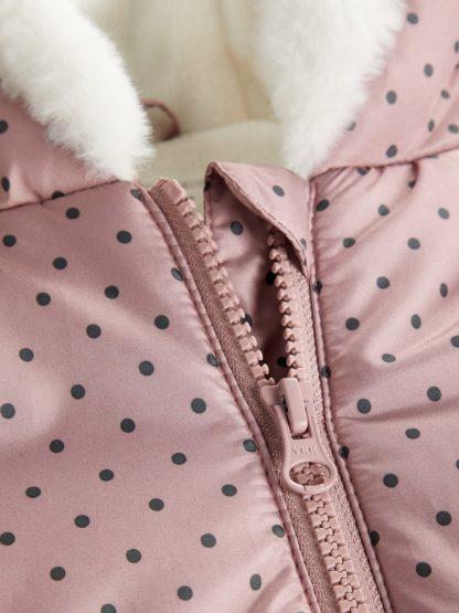 Name It vinterjakke rosa.