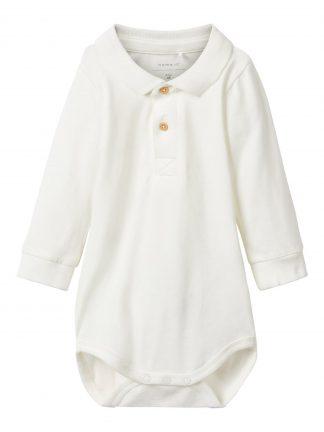 Baby skjortebody fra Name It.