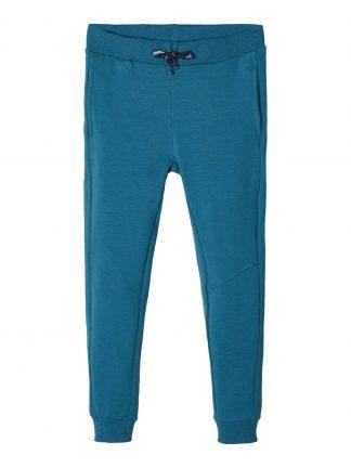 Blå joggebukse Name It