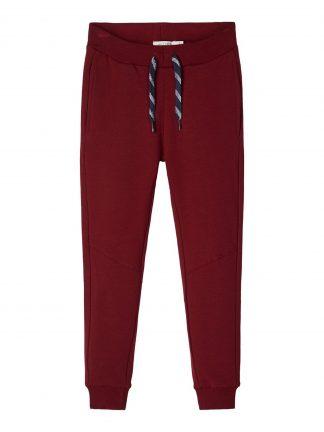 Name It rød joggebukse til gutt.