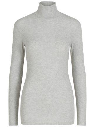 Tynn genser høy hals, genser fra Yas.