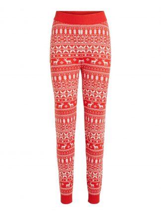 Bukse med julemotiv, bukse fra Vila.