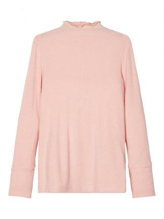 Genser viskose barn, rosa genser fra Name It.