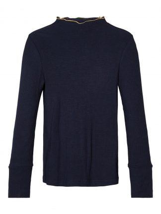 Marineblå genser jente, genser fra Name It.