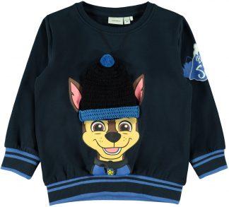 Genser Paw Patrol, blå genser fra Name It.