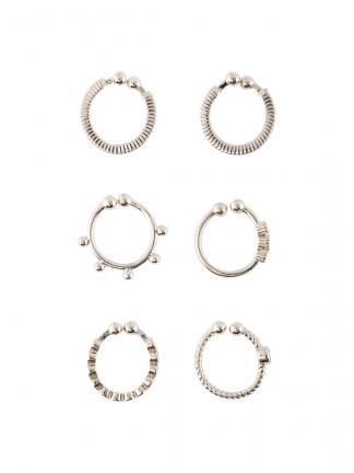 Ear cuffs sølv