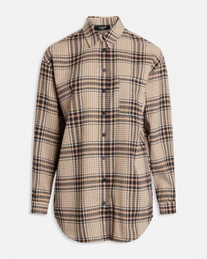 Sisters Point flanellskjorte – Sisters Point rutete skjorte EllieBieg – Mio Trend