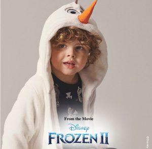 Frost morgekåpe med Olaf