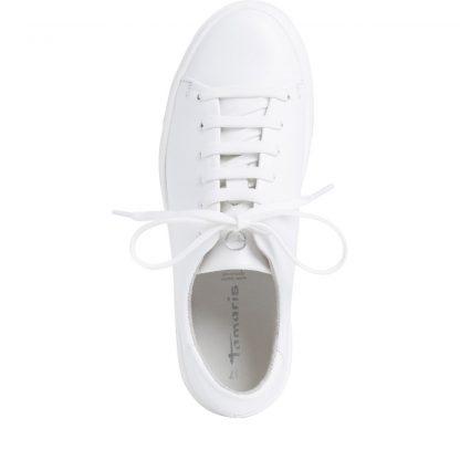 Hvite sko Tamaris