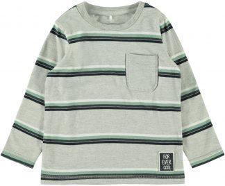 Grå genser striper