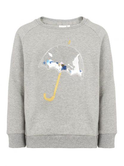 Grå genser paraply. – Name It grå genser Ofelia – Mio Trend
