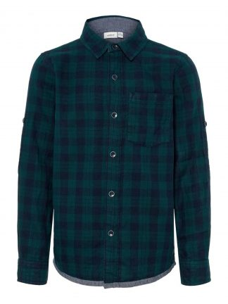 Grønn skjorte Name It.
