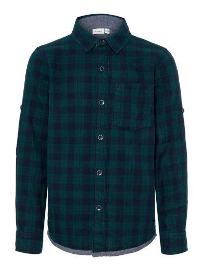 Grønn skjorte Name It. – Skjorter og vester grønn rutete skjorte – Mio Trend