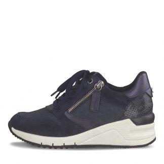 Blå sko Tamaris