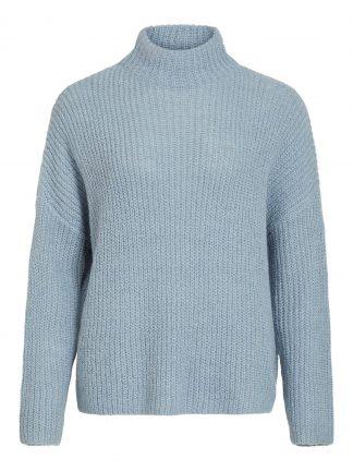 Lyse blå genser Vila.