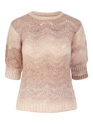 Rosa strikkegenser Yas