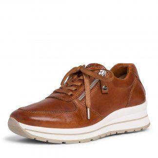 Brun sko fra Tamaris