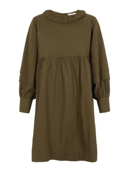 Grønn kjole Pieces – Pieces grønn kjole Mutia – Mio Trend