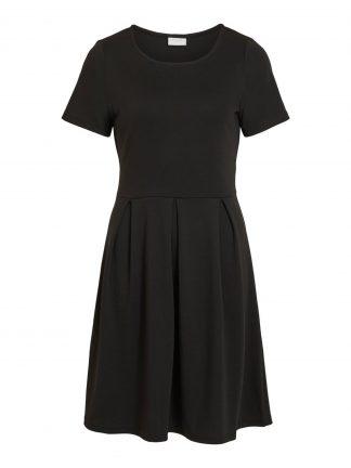 Vila svart kjole