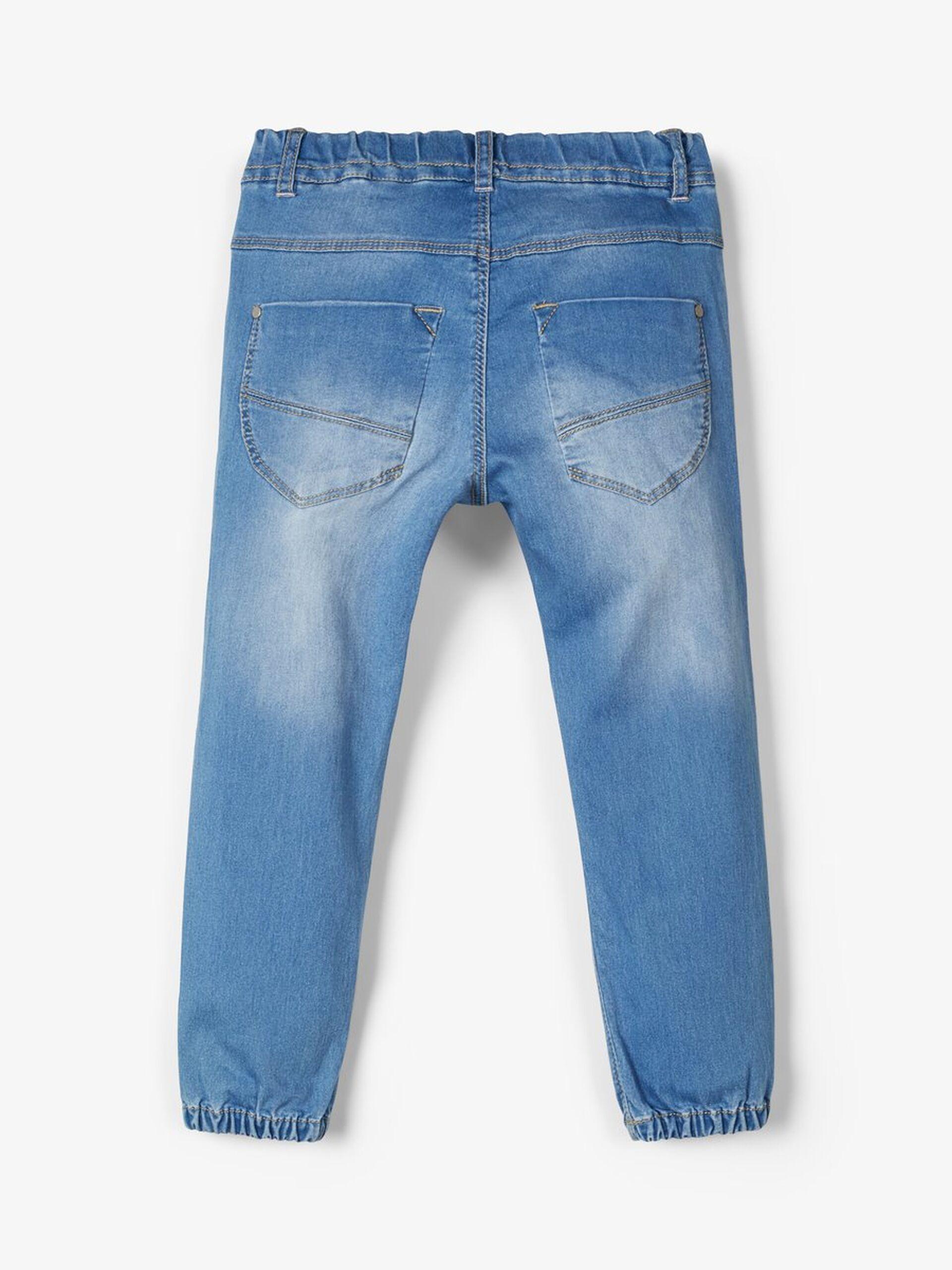 NmfBibi dnmtolly 2322 bukse, medium blue denim