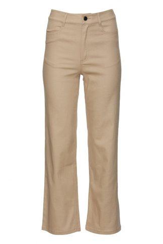 Beige jeans Rue de Femme
