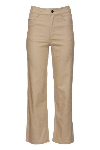 Beige jeans Rue de Femme – Rue de Femme beige bukse Effie – Mio Trend