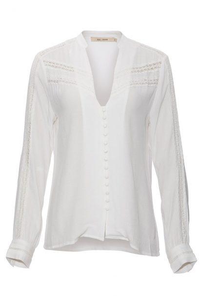 Blondebluse Rue de Femme – Rue de Femme off white bluse Heidi – Mio Trend