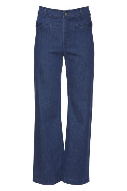 Rue de Femme jeans – Rue de Femme denimbukse med rette bein Scola – Mio Trend