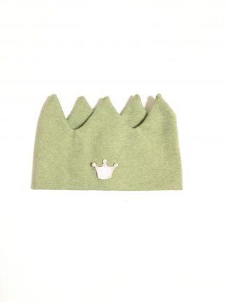 Grønt krone pannebånd