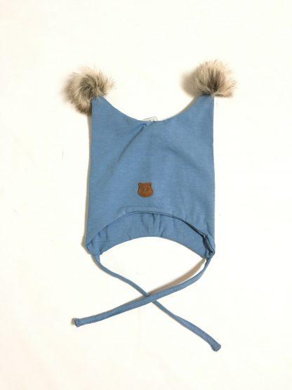 Blå lue barn – Name It blå lue bomull to dusker – Mio Trend