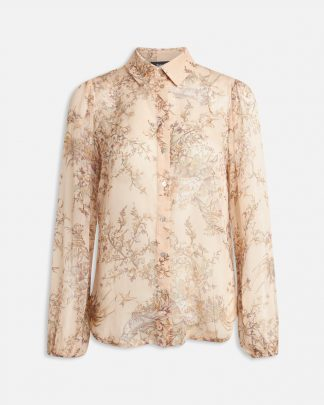 Beige bluse Sisters Point