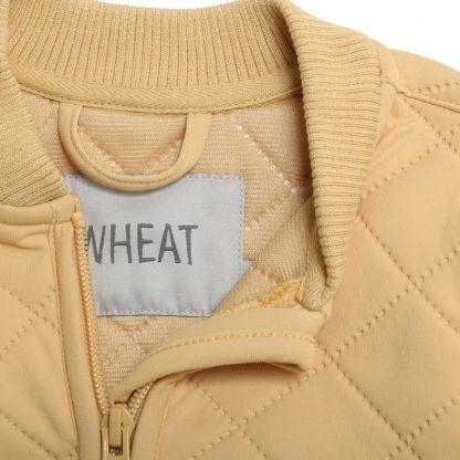 Wheat thermojakke gul