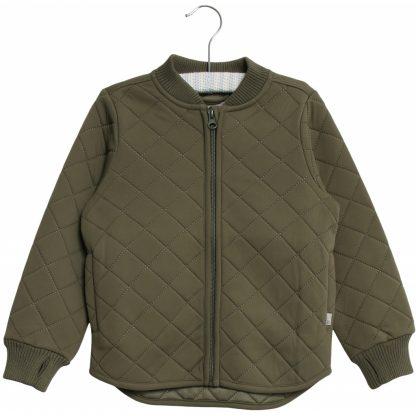 Grønn jakke Wheat – Yttertøy grønn thermojakke Loui – Mio Trend