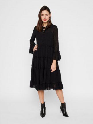 Svart kjole Yas