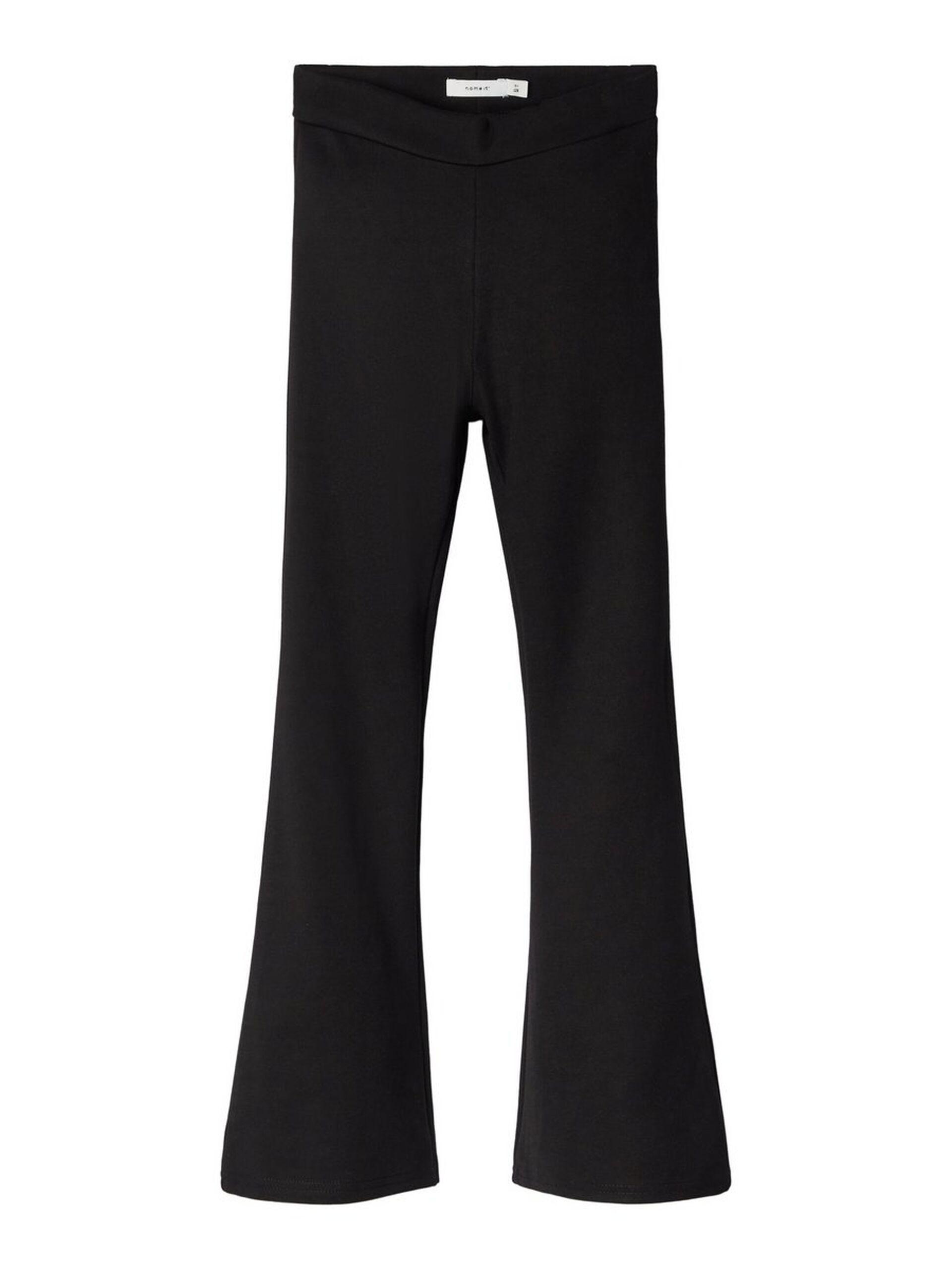 NkfFrikkali bootcut bukse, black